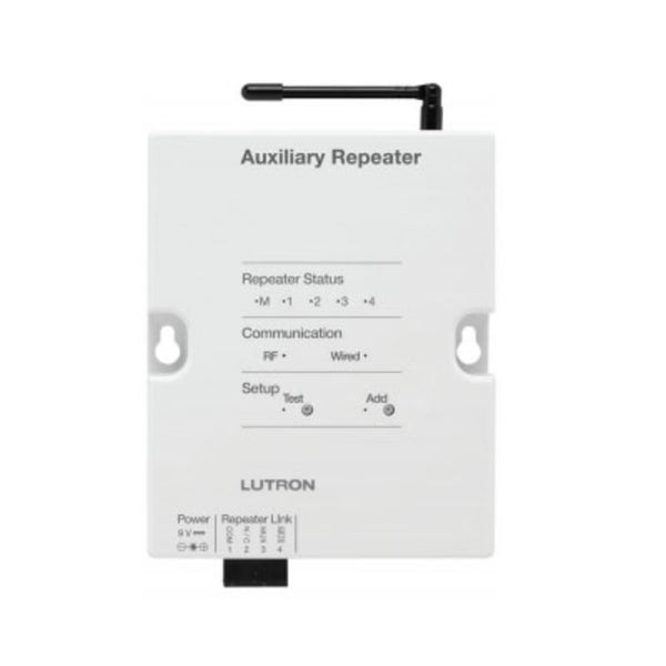 Lutron RadioRA Auxiliary Repeater in White