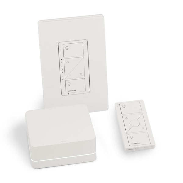 Lutron PBDGPROPKG1WC Caséta Kit W/ Bridge Pro Dimmer