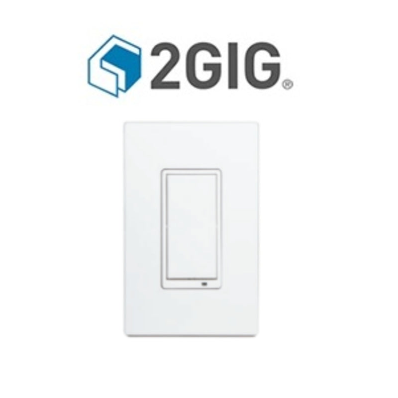 2GIG WS15Z5-1 GoControl Z-Wave Plus White In-Wall Switch, 15A Maximum Load