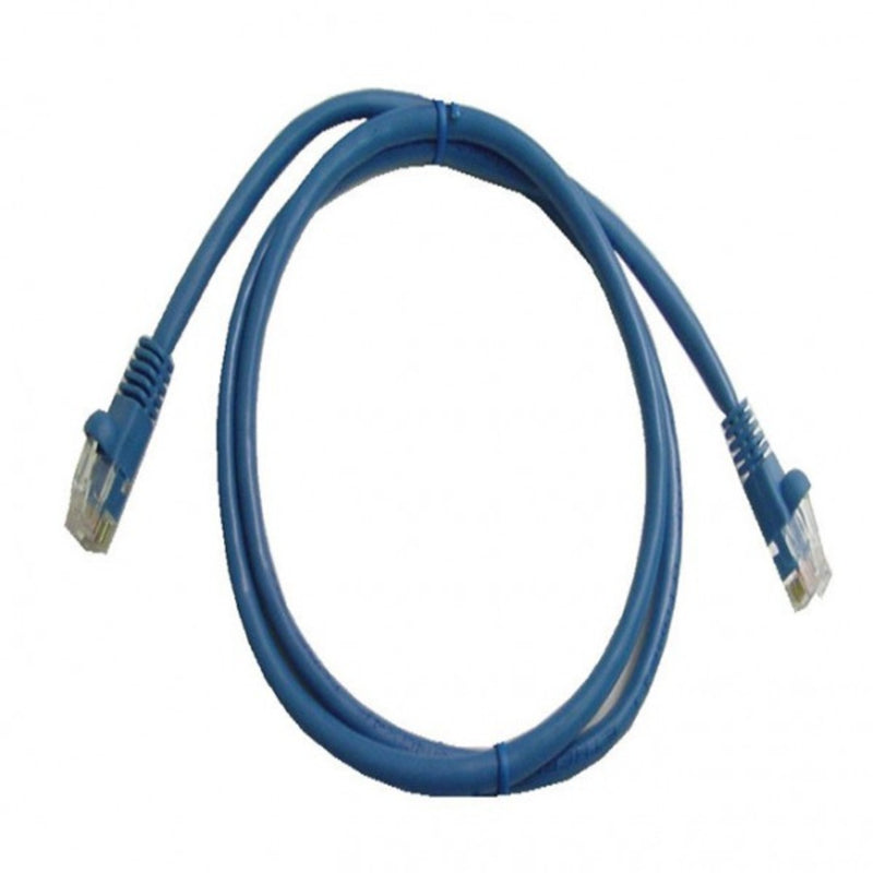 Calrad 72-111-7-BU-5 7Ft Cat6 Patch Cable - Blue - 5 Pack