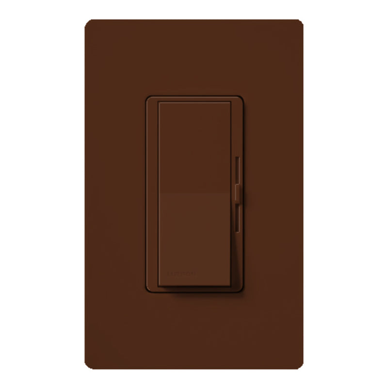 Lutron DVSCLV-10P-SI Diva Magnetic Low Voltage Preset Dimmer - Sienna
