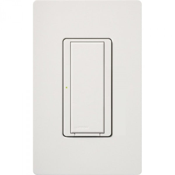 Lutron RRD-8ANS-SW RadioRA 2 8A Neutral Wire Electronic Switch - Snow