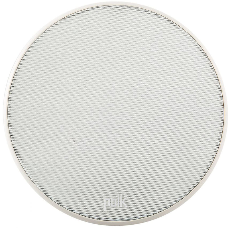 Polk Audio V60 High Performance Vanishing In-Ceiling Speaker, Single, White (FINAL SALE)