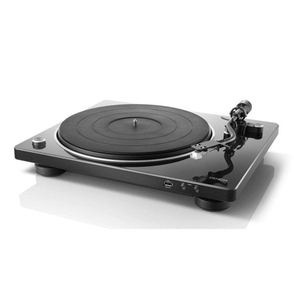 Denon DP-450USBWT Hi-Fi Belt-Driven Turntable with USB - White
