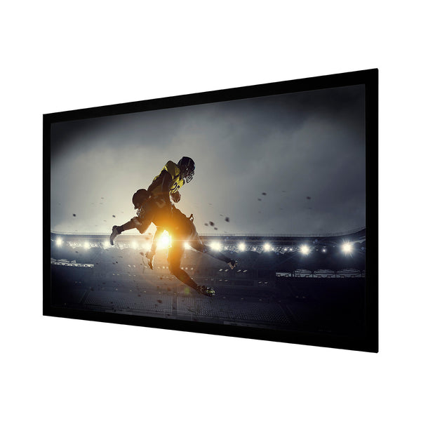 "SCRN Brand 120FIXW 120"" Matte White Fixed Screen"
