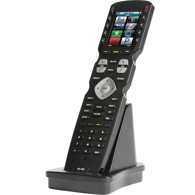 URC MX-990i IR/RF Hard Button Remote Control with Color LCD (433MHz)