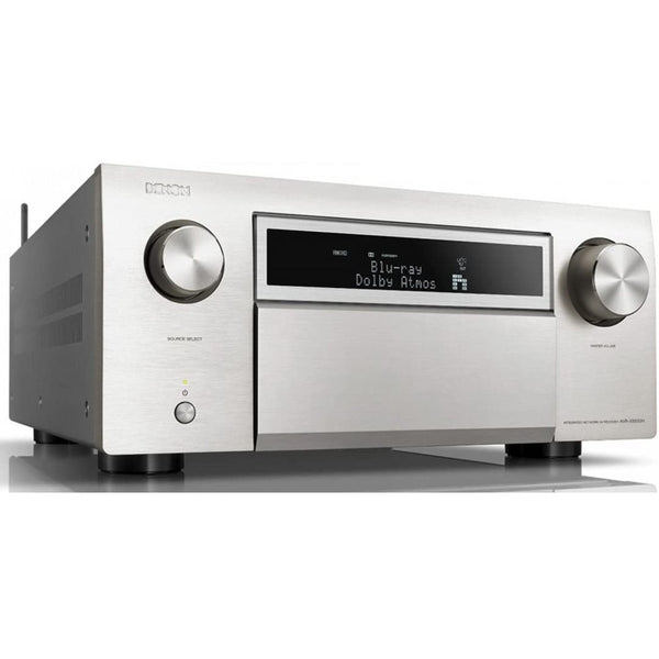 Denon AVR-X8500HSP 13.2-Channel AV Receiver w/ Dolby Atmos, DTS:X, Auro-3D, and HEOS Built-in - Silver