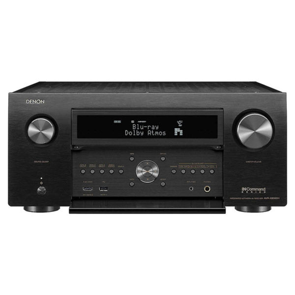 Denon AVR-X8500H 13.2-Channel AV Receiver w/ Dolby Atmos, DTS:X, Auro-3D, and HEOS Built-in