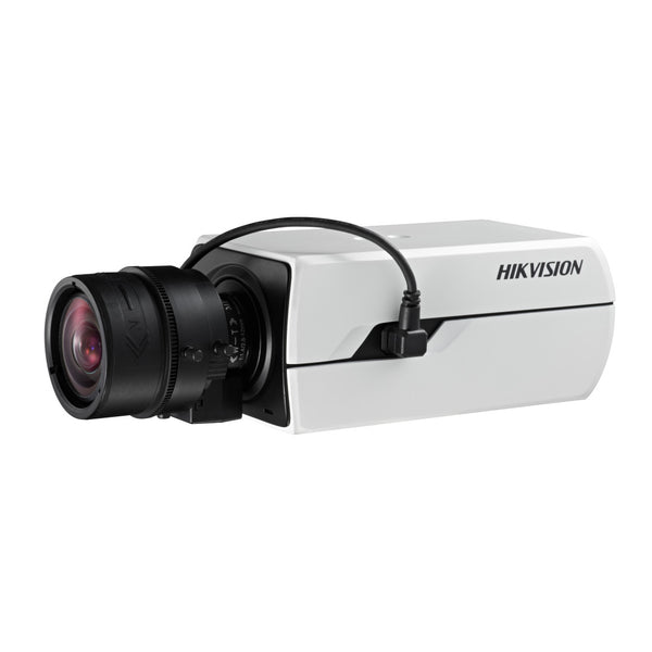Hikvision DS-2CE37U8T-A Box Camera TurboHD 4.0 HD-TVI 8MP Ultra Low Light Day/Night True Wdr Awb Alarm/RS-485 24VAC/12VDC