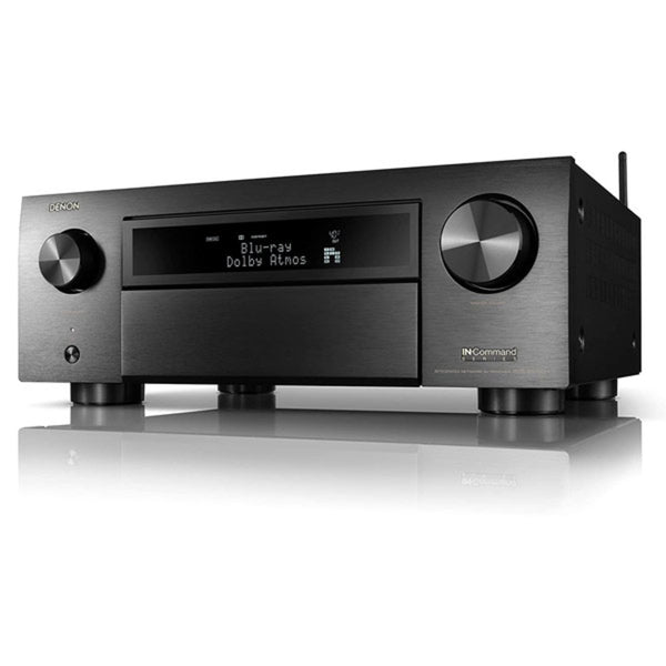 Denon AVR-X6700H 11.2 Channel 8K AV Receiver w/3D Audio, HEOS Built-in and Voice Control