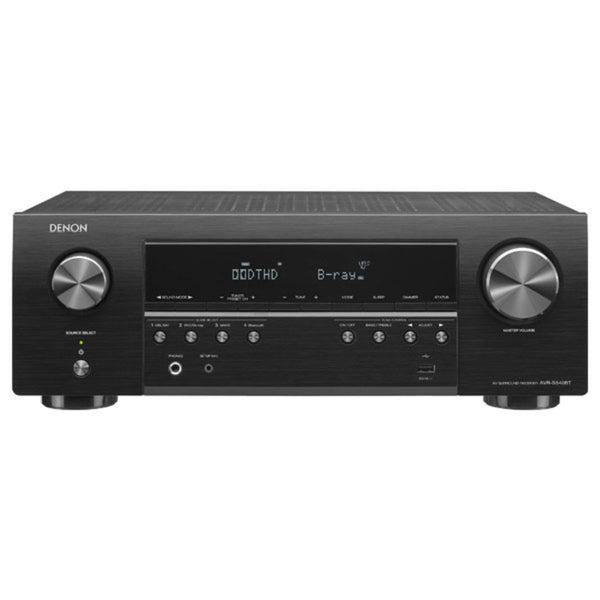 Denon AVR-S540BT 5.2-Channel 4K Ultra HD AV Receiver