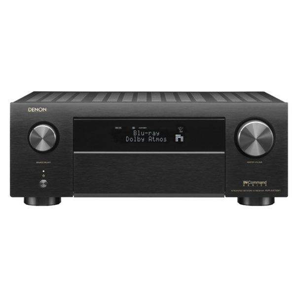 Denon AVR-S960H 7.2 Channel 8K Ultra HD AV Receiver w/3D Audio, HEOS Built-in and Voice Control
