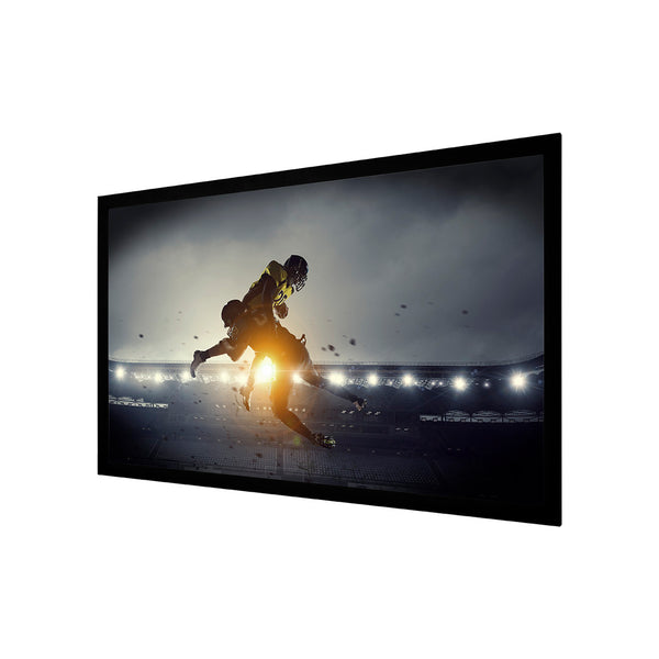 "SCRN Brand 106FIXW 106"" Matte White Fixed Screen"