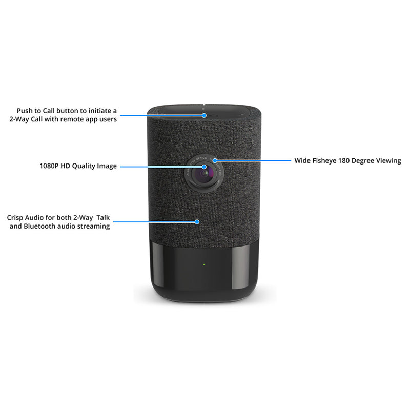 Alarm.Com 180 Degree HD Camera
