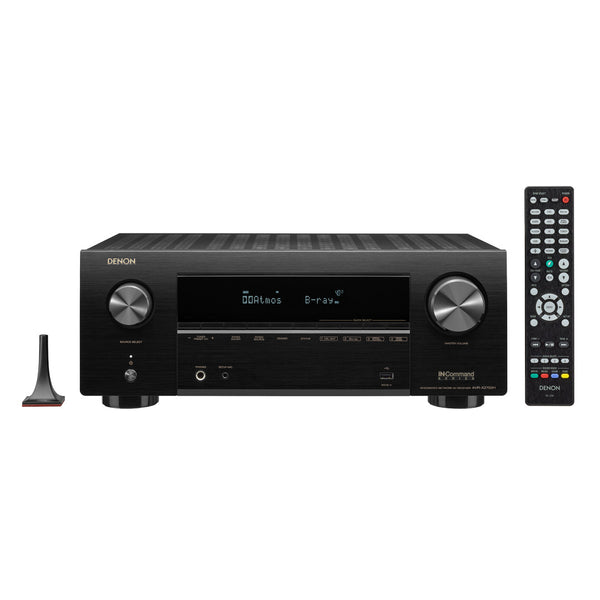 Denon AVR-X2700H 7.2 Channel 8K AV Receiver w/3D Audio, Voice Control and HEOS Built-in