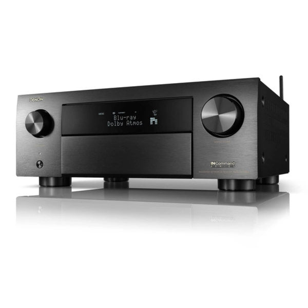 Denon AVR-X4700H 9.2 Channel 8K AV Receiver w/3D Audio, HEOS Built-in and Voice Control