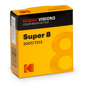 KODAK VISION3 200T Super 8 Color Negative Film 7213