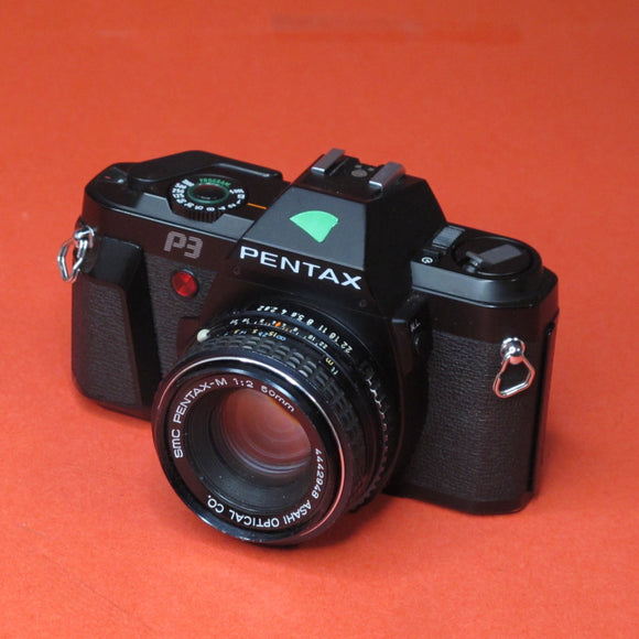 Pentax P3 35mm Camera with 50mm f2 Lens