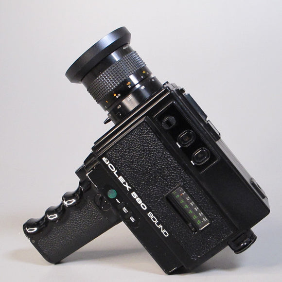 Bolex 580 Sound Super 8 Camera with 7.5-60mm f1.7 Lens