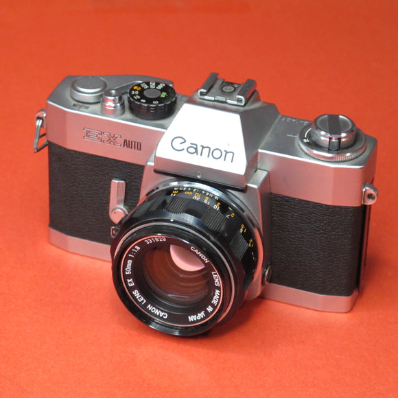 Canon EX Auto with 50mm f1.8 Lens
