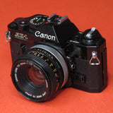 Canon AE-1 Program with 50mm f1.8 FD Lens