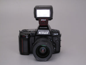 Nikon F90X Camera with Zoom and Flash