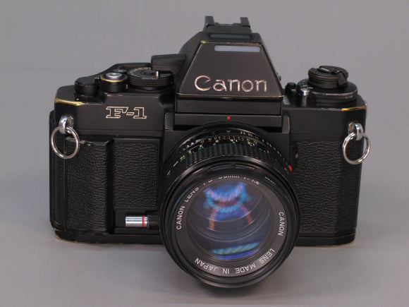 Canon F1N with 50mm f1.4 Lens