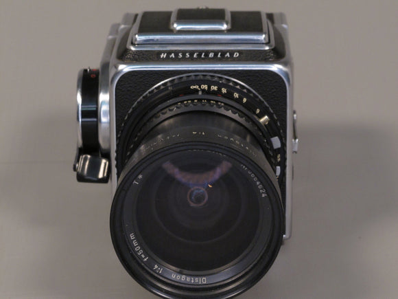 HASSELBLAD 500C WITH ZEISS 50/4 T* + 6X6 BACK