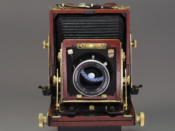 WISTA 4X5 Field Camera with Super-Angulon 90mm