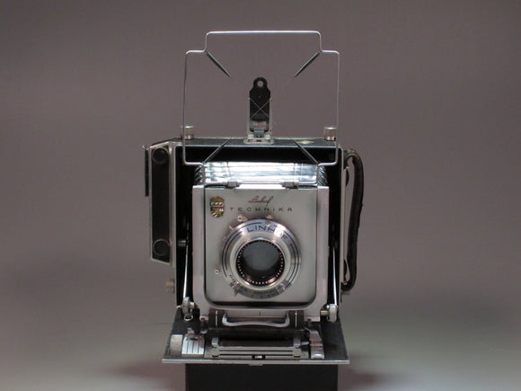 LINHOF TECHNIKA 4X5  Field Camera with 150mm f4.5 Lens