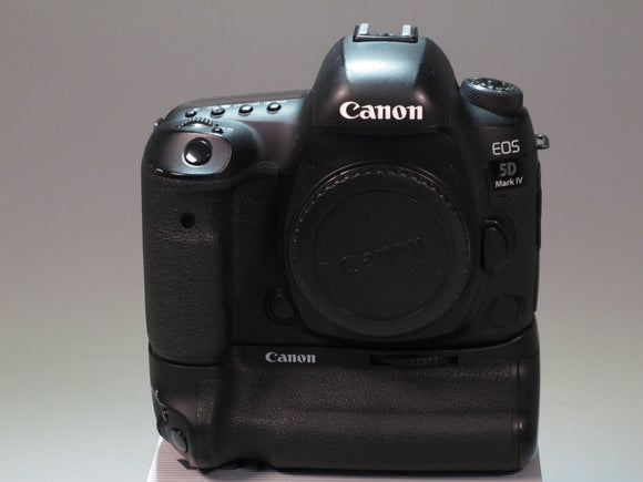 Canon EOS 5D Mark IV DSLR Camera Body with Battery Grip Kit