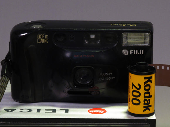 Fuji DL-80 Date with Fujinon 35mm Lens Point & Shoot Film Camera Excellent+