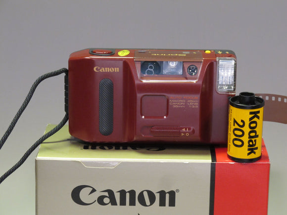 Canon SPRINT 35mm Point & Shoot Film Camera