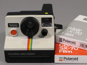 POLAROID 1000 LAND CAMERA SX-70 FILM