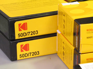 KODAK VISION3 50D 16mm Color Negative Film 7203