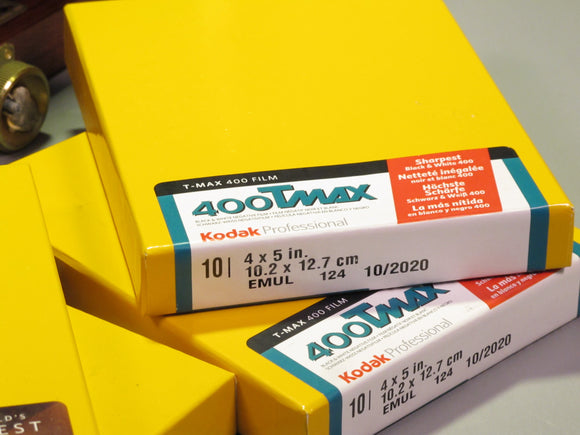 Kodak Professional 400 TMAX 4X5 in. B&W Negative Film