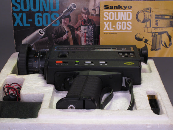 Sunkyo SOUND XL-60S SUPER 8 CINE CAMERA
