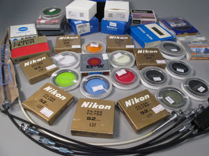 Filters, Lens Adapters, Cable Release (call for availability)