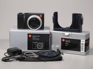 Leica C-Lux Compact Camera with Leather Protector