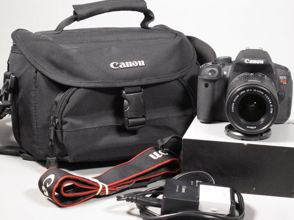Canon EOS REBEL T5i Digital SLR Camera with Canon 18-55mm Zoom Lens