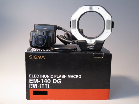 Sigma Electronic Ring Flash Macro EM-140 DG