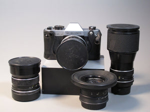 Rolleiflex SL35 kit with 4 Zeiss lenses