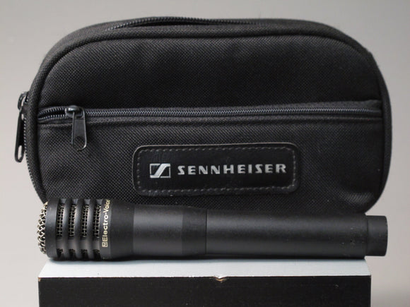 Electro-Voice Condenser Cardioid PL37 Microphone with Sennheiser Carrying Case