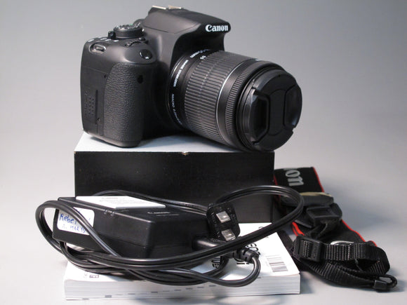 Canon EOS REBEL T5i DSLR Camera with EFS 18-55mm f3.5-5.6 lens