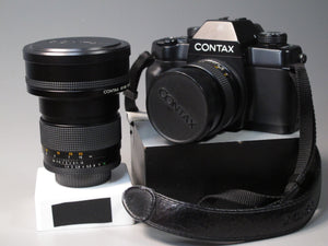 CONTAX ST 35mm Camera with Zeiss Distagon 28mm f2.8 T* and Zeiss Planar 85mm f1.4 T* Lenses