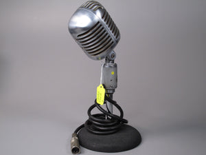 "SHURE ""556B"" Series Broadcast ""Unidyne"" Microphone (Super Cardioid Uni-directional Moving-Coil Dynamic)"