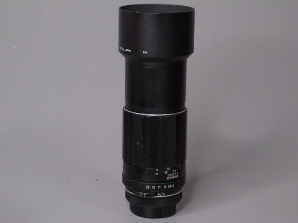 Super-Multi-Coated TAKUMAR 200mm f4 Lens M42 Mount