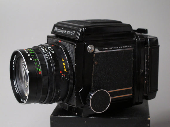Mamiya RB67 Professional Medium Format Camera with 65mm f4.5 lens