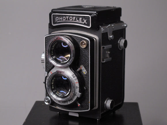 Photoflex SCL Medium Format TLR Camera