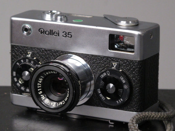 Rollei 35 with Collapsible Zeiss 40mm f3.5 lens